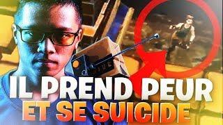 UN JOUEUR A EU PEUR ET PREFERE SE SUICIDER SUR FORTNITE