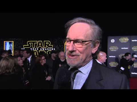 Star Wars - The Force Awakens: Steven Spielberg Red Carpet Interview