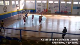 Juvenis (Campeonato AFC): CS São João 8-2 Granja do Ulmeiro
