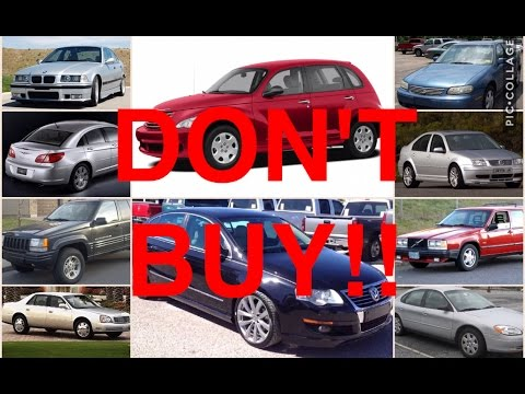 10 Used Cars You Should NEVER Buy (PART 2)