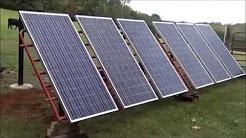 DIY - Solar Panels Meet Cattle Panels