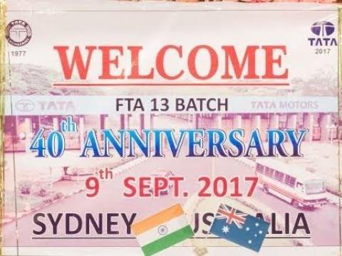 FTA13 - TATA Motors, 40 th Anniversary, Sydney