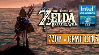 Intel Hd Graphics 630 Zelda Breath Of The Wild Benchmark Cemu 1 11 5