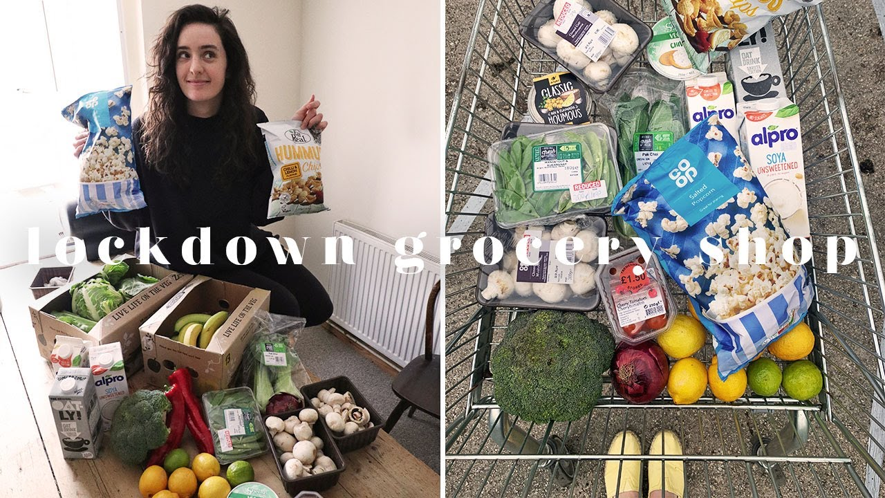 VEGAN LOCKDOWN GROCERY HAUL