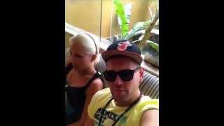 X Diaries 2012 Priscilla  und Tom 11 uhr morgen auf Malle