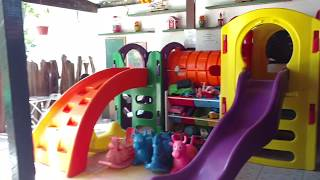 Pousada Sempre Graciosa - Brinquedoteca e Área de Lazer - 1º Parte - 1/3