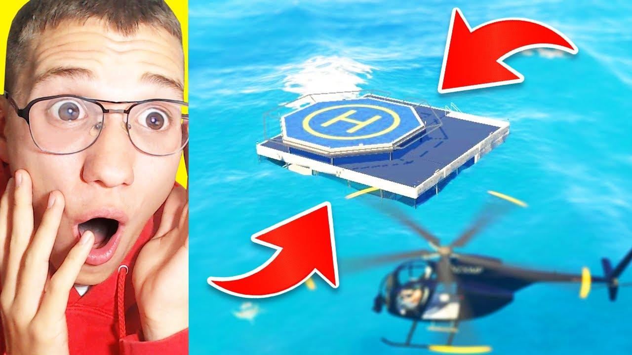 🔴 מצאתי בית סודי מתחת למים ב GTA V?! (אתם לא תאמינו למה שמצאנו בפנים!)