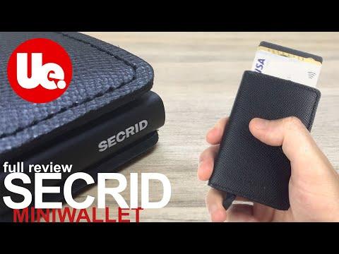 SECRID Wallet Review | Miniwallet Crisple Black 'Best Wallet 2019?'