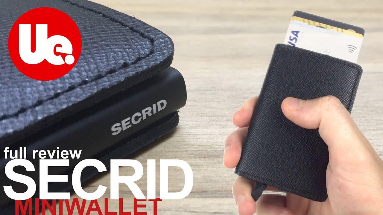 6679e2f7403 SECRID Wallet Review | Miniwallet Crisple Black 'Best Wallet 2019 ...