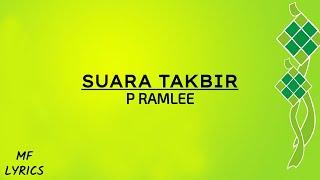Cover images P Ramlee - Suara Takbir (Lirik)