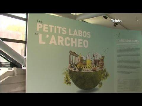 Exposition à l'ancienne abbaye de Landévennec (Finistère)
