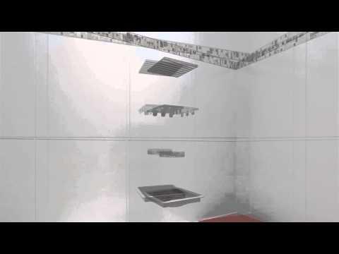 Ralo Linear: Square Line com Tampa Oculta