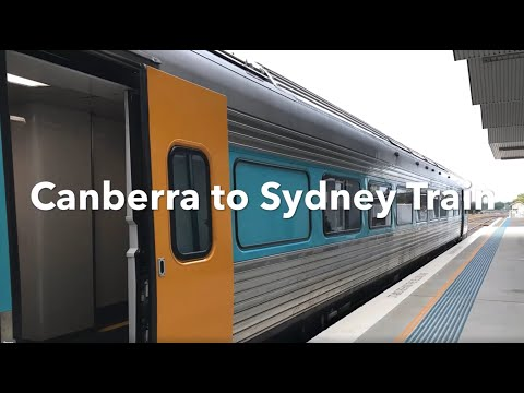 Canberra To Sydney Train