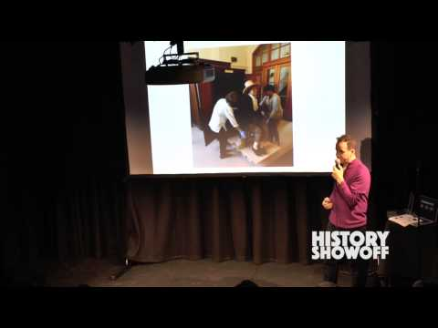Adrian Blau of King's College talks Bentham at History Showoff (filmed at UCL)short