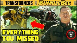 Bumblebee Trailer All Easter Eggs + Deep Analysis (Transformers 6 Movie)