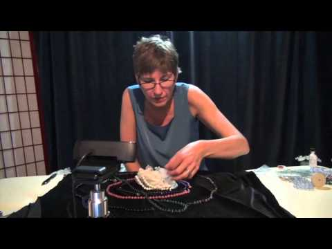 Gemstone Therapy Demonstration: How to Use Quartz Crystal Clusters