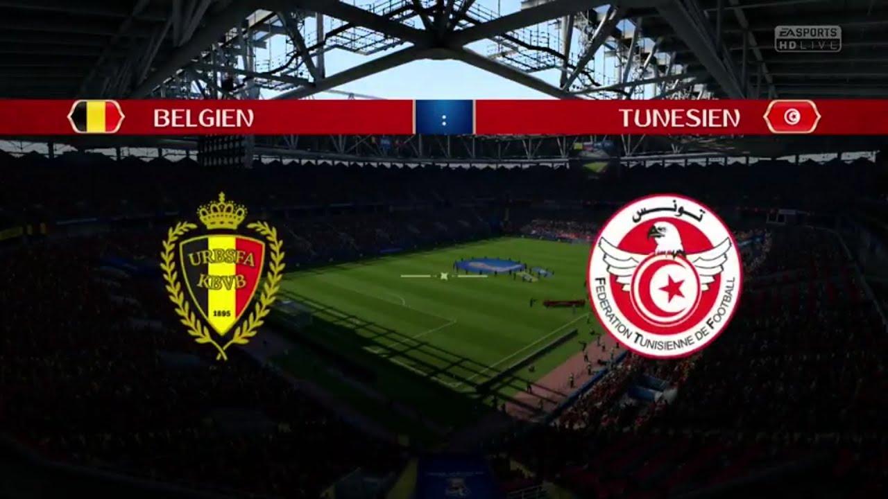 Prognose Belgien Tunesien