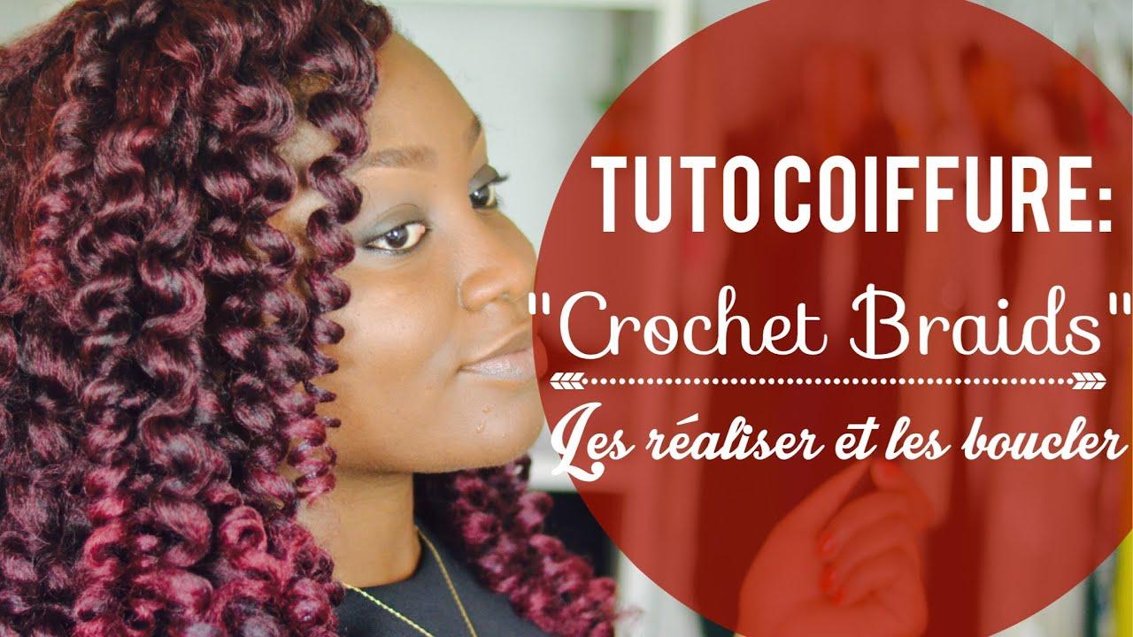 Comment R 233 Aliser Et Boucler Les Crochet Braids Tuto