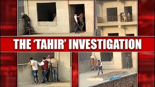 Video Of AAP's Tahir Hussain Directing Masked Men At Factory Surfaces; Republic Finds Riot Materials