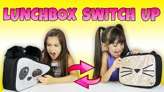 The LUNCHBOX Switch Up Challenge FAST FOOD EDITION | Emily and Evelyn