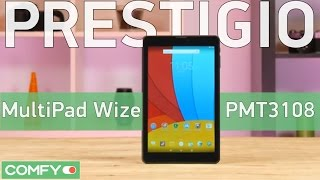 Prestigio MultiPad Wize PMT3108 планшет с аппаратной платформой от Intel - Видео демонстрация