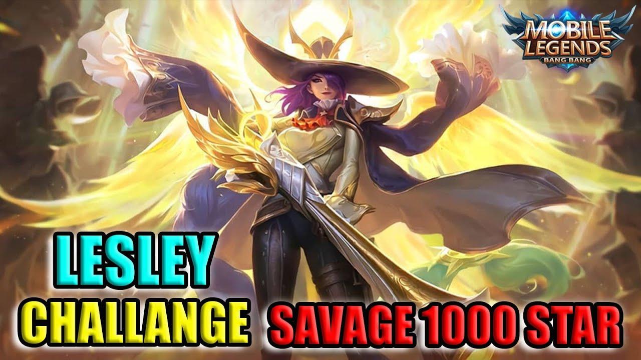 Lesley Challange 1000 Star Savage