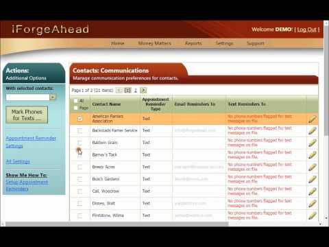 iForgeAhead – Appointment Reminder System