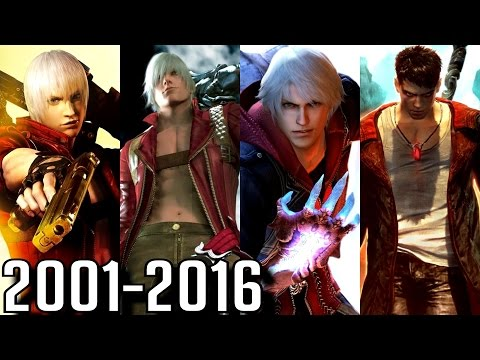 Devil May Cry - ALL INTROS 2001-2016 (PS2-PS4, Xbox, PC) thumbnail