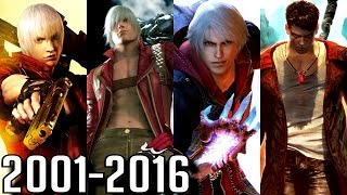 Devil May Cry - ALL INTROS 2001-2016 (PS2-PS4, Xbox, PC)