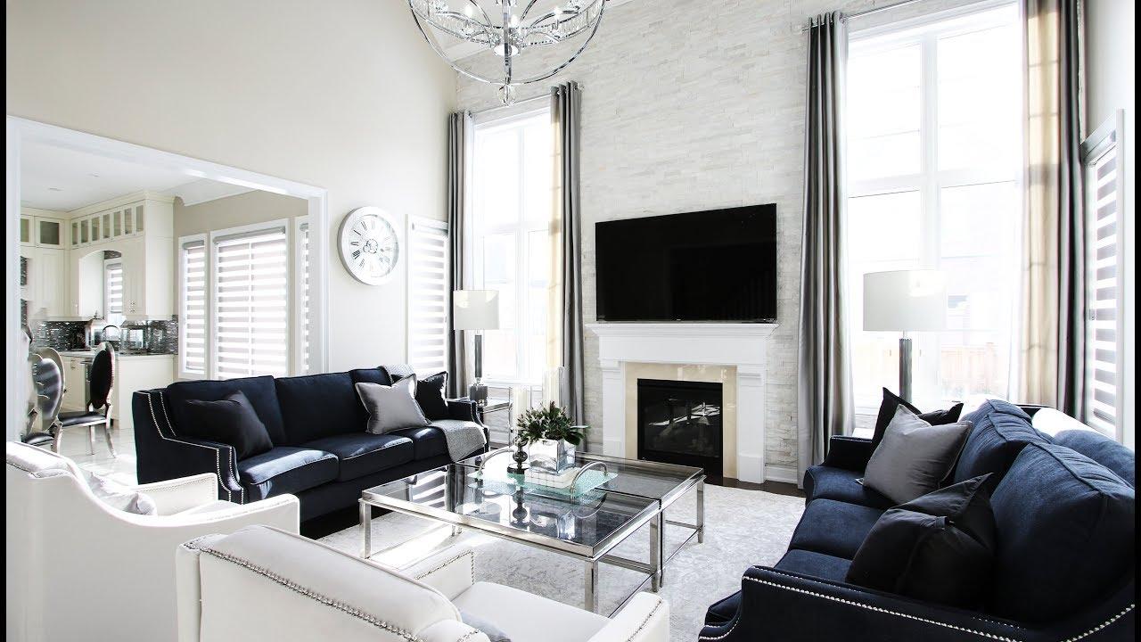 Superieur Elegant Family Room Makeover   Kimmberly Capone Interior Design
