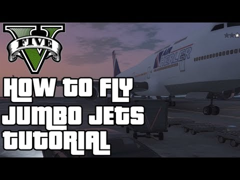 GTA 5 Online' How To Get The Jumbo Jet Online | How To Save Money And