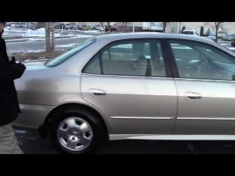 Used 2002 Honda Accord EX-L V6 for sale at Honda Cars of Bellevue...an Omaha Honda Dealer!