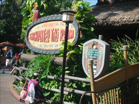 Enchanted Tiki Room - Let's All Sing Like the Birdies Sing (Japanese)