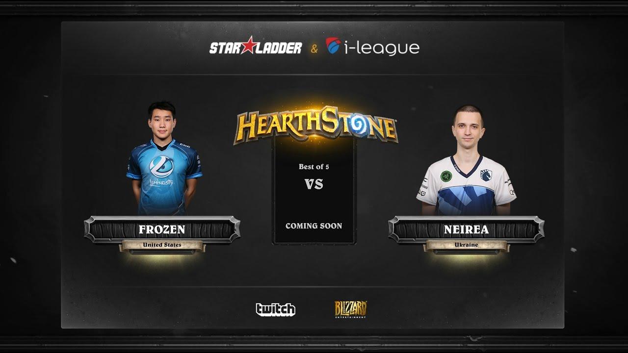 [RU] Fr0zen vs Neirea | SL i-League Hearthstone StarSeries Season 3 (13.05.2017)