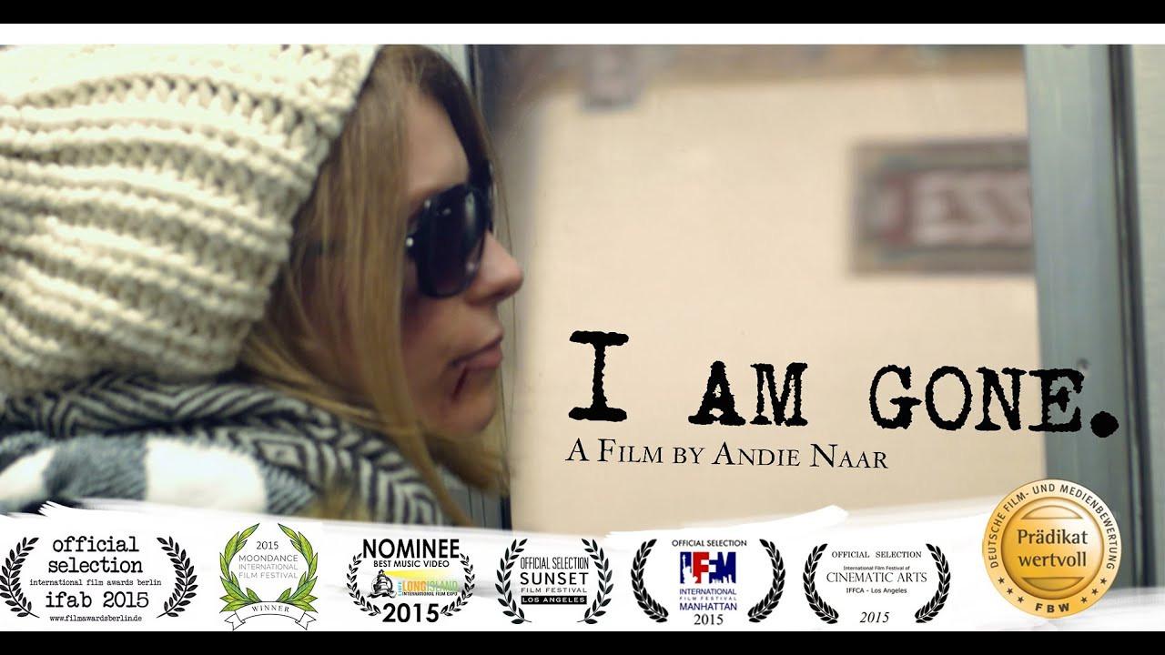 I am gone - Song and Music Film by Andie Naar - No More Domestic Violence