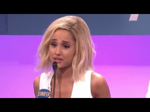 Thumbnail: Ariana Grande Does Hilarious Impression of Jennifer Lawrence on Saturday Night Live