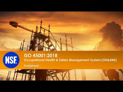 ISO 45001:2018 Occupational Health And Safety Management System (OH&SMS)