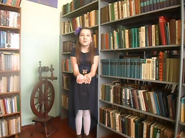 Изображение предпросмотра прочтения – ДианаДанилова читает произведение «Она сидела наполу…» Ф.И.Тютчева