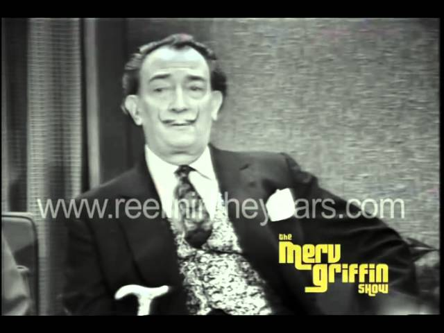 Salvador Dali Interview Merv Griffin Show 1965