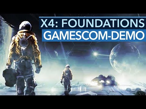 X4 Foundations Video from Gamescom 2018 (german) : spacesimgames