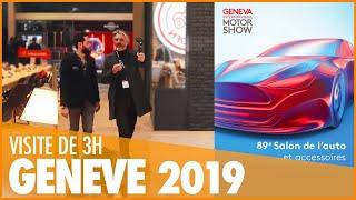 🚗 VISITEZ AVEC NOUS LE SALON DE GENEVE 2019・VISITE COMPLETE DE 3H !