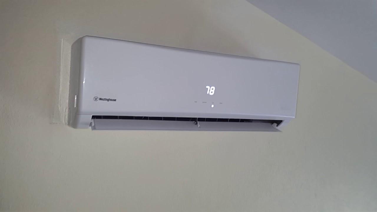 A 9000 Btu 12000 R410a Westinghouse D C Inverter Air
