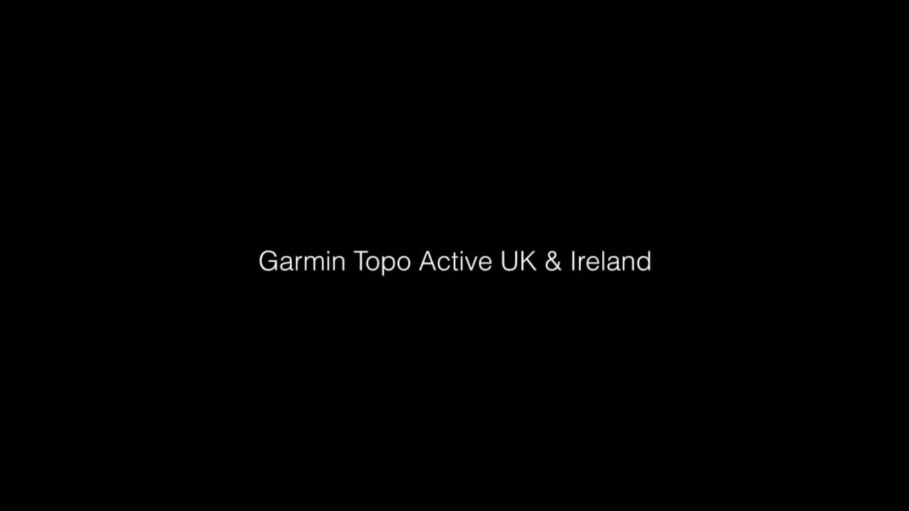 Garmin Mapping Options - Ordnance survey v TOPO Active