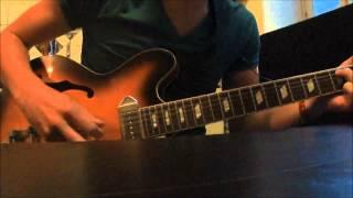 Sigur Ros - Njósnavélin (The Nothing Song) for one guitar