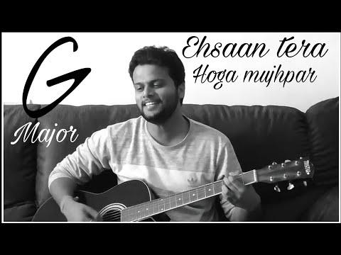Ehsaan tera hoga mujhpar | Ek pyar ka nagma hai | G Major chord medley | OldHindi songs