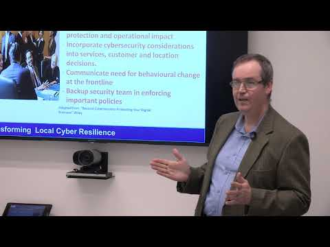 LGA GDPR briefing day: think cyber, think resilience