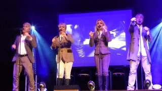 Cheryl, Mike & Jay formerly of Bucks Fizz opening medley