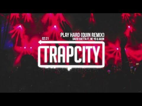 David Guetta Ft. Ne-Yo & Akon - Play Hard (Quin Remix)  | [1 Hour Version]