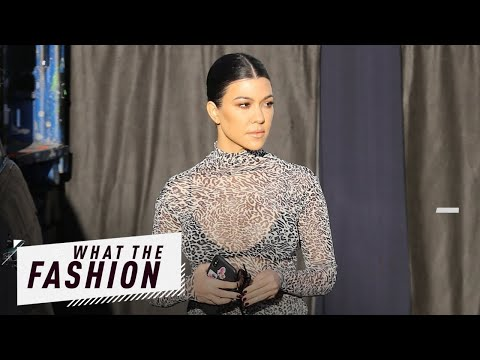 Kourtney Kardashian Is a Hot Mesh?  What the Fashion  S2 Ep 13  E News