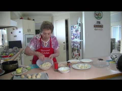 Marina's Kitchen - Potato & Bacon Balls
